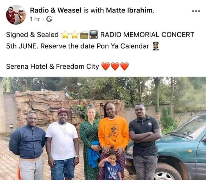 Goodlyfe Sets Dates For Mowzey Radio's Memorial Concert, To Support His Family. 1